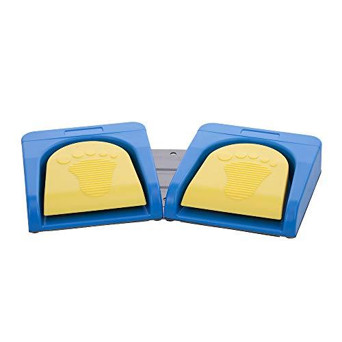 [2 PCS] Docooler Fußschalter, Multimedia-Eingabegerät (Bluetooth / Wired)