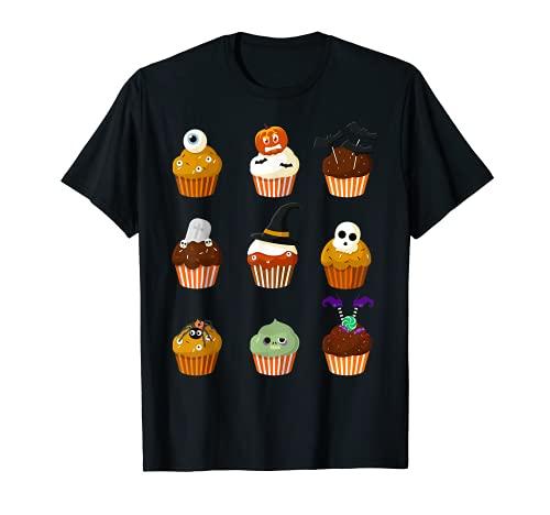 Disfraz lindo de Halloween de la magdalena de mi Camiseta