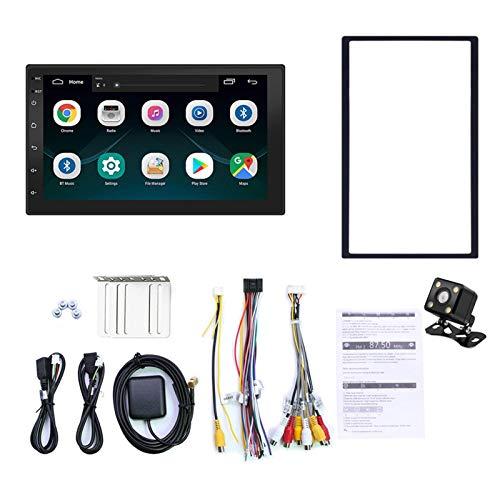Para Android 10.1 2 Din Car Radio Bluetooth MP5 Reproductor de video Android 10.1 16G Memoria Botón táctil de 7 pulgadas HD Car Bluetooth MP5 Player Car 2 DIN Radio Universal Navegación GPS Má