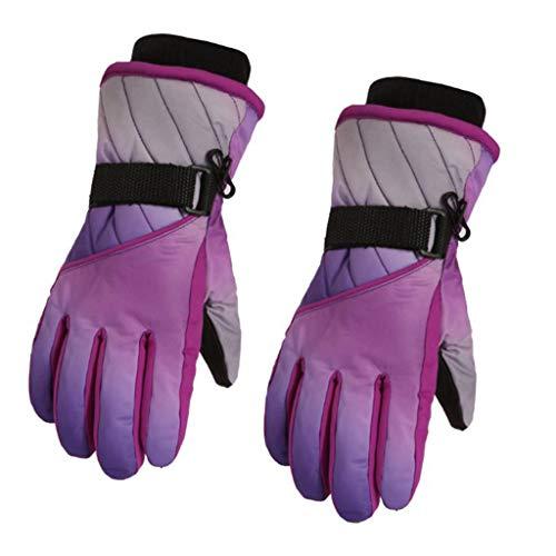Gjyia Kinder Winter warm kalt handschuh wasserdicht verdickung Kinder Jungen mädchen ski Handschuhe