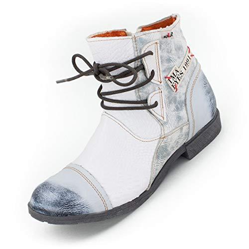 TMA Damen Booties, Schneeweiß - 37