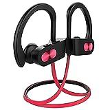 Écouteur Bluetooth, Flame Ecouteurs sans Fil Sport IPX7 Casque de16H Intra Auriculaires Léger avec CVC6.0 Micro Anti-Bruit, Oreillette Bluetooth Courir Lecteur Musique pour Jogging