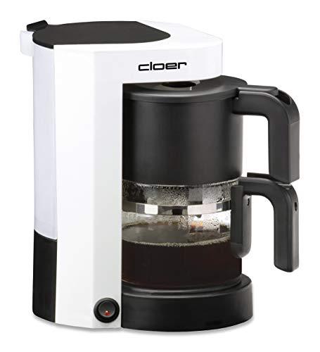 Cloer 5981 Filterkaffee-Automat mit Warmhaltefunktion / 800 W / 5 Tassen / Filtergrösse 1x2
