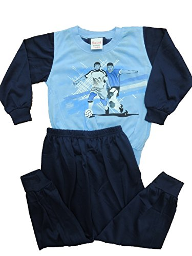 Jungen Schlafanzug Pyjama in den Größen 104-164 (104-110)