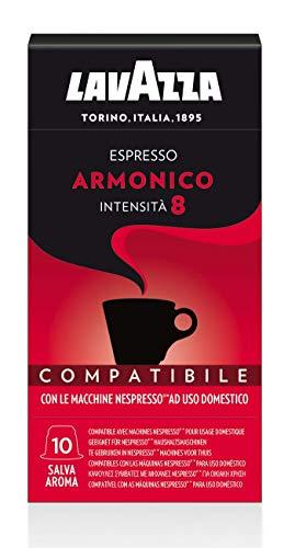 Lavazza Nespresso Compatible Coffee Capsules (10 Pack of 10) (Armonico)