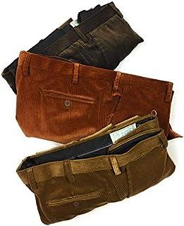 Pantalone Velluto, Duca Visconti di Modrone Elasticizzato (10 Colori) dalla 48 alla 60 Piu Misure CALIBRATE! (55-57-59-61-...