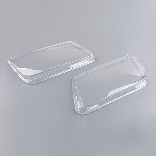 Topteng Auto Koplamp Lens Set, Plastic Koplamp Lenzen Vervanging voor V-W MK4 Jet-ta Bora 1999-2005