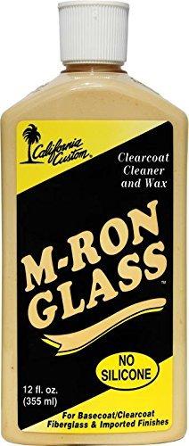 California Custom M-Ron Glass Cleaner Wax - 12 oz
