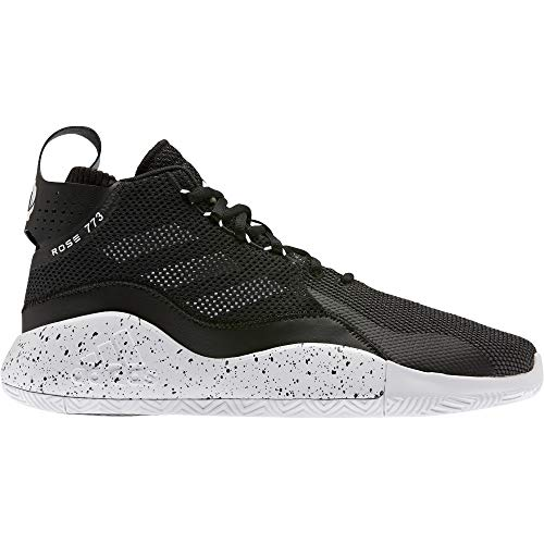 adidas D Rose 773 2020, Zapatillas de Baloncesto Unisex Adulto, NEGBÁS/FTWBLA/NEGBÁS, 39 1/3 EU