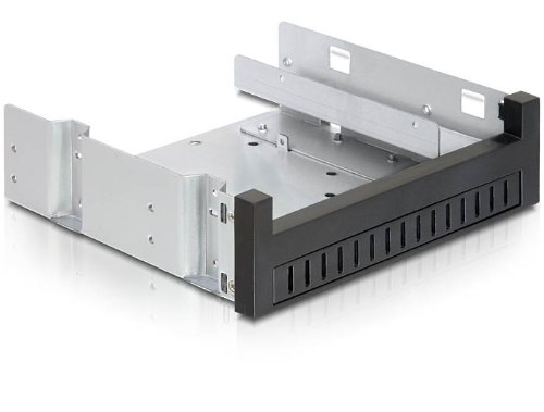 DeLock 5.25″ Einbaurahmen für 1 x 5.25″ Slim Laufwerk + 1 x 2.5″ oder 3.5″ HDD