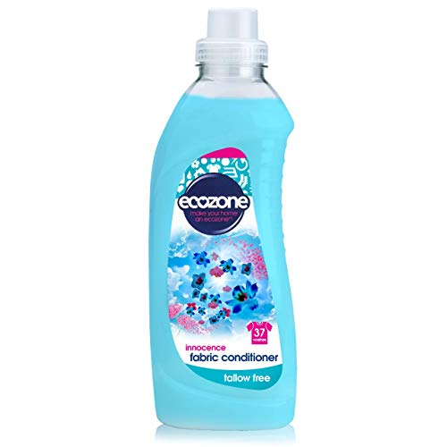 Ecozone Fabric Conditioner, Innocence, 1000ml, Concentrated Formula, Tallow Free, 37 Washes