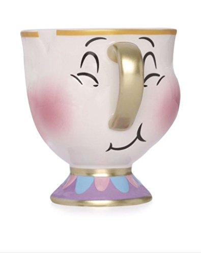 Primark Disney Beauty & The Beast Chip Bubbles Mug Cup New