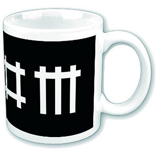 Depeche Mode - Keramik Becher Tasse - Logo - verpackt in einer Geschenkbox!