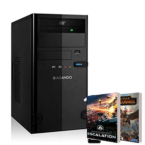Agando Silent Allround & Multimedia Pc Multicolor Amd R7 360 2Gb | Windows 10 Intel Core I5 4460 | 16Gb Ram