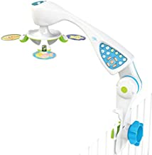 Nurture Smart - Baby Crib Mobile for Brain Development - Designed by Child Life Specialists - Superior Safety Features - Sensory Interaction - Night Light Projector - Music & Sound Options