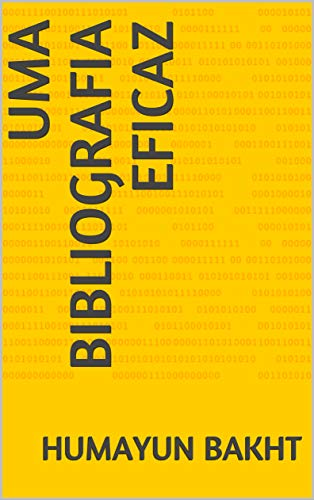 Uma bibliografia eficaz (English Edition)