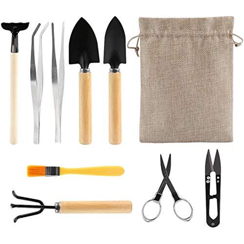 10 Stück Garten Bonsai Tools Set,...
