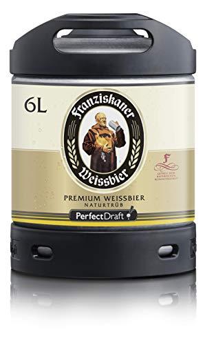Franziskaner Weissbier barrilete cerveza de trigo Perfect Draft 6 litros 5,0% vol.