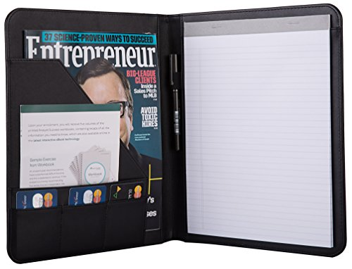 Jancosta Business Padfolio Portfolio with Letter Size Writing Notepads...