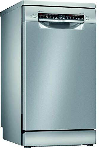Bosch Electrodomésticos SPS4EMI28E Serie 4 Lavavajillas de libre posicionamiento, 45 cm, color inoxidable