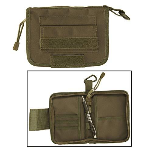 Edc case tactical carry every day urgence outils étui portefeuille à rabat de survie ferdermappe porte-monnaie trousse pochette organiseur