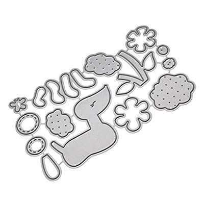 Cutting Dies,IHGTZS 2019 DIY Snowflake Metal Die-Cut Stencils New Scrapbooking Album Paper Card