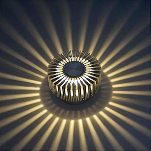 LED Wandleuchte mit Fernbedienung Flutlicht Kreative Design Effektlampe Deckenspots Effekt Licht Moderne Innen Wandlampe für Flur Schlafzimmer Balkon Wohnzimmer Babyzimmer