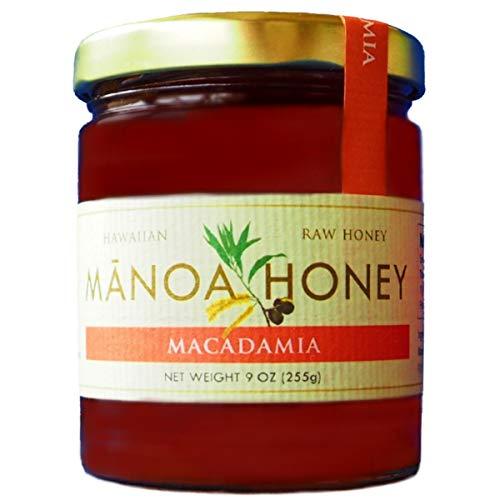 ManoaHoney ハワイ農務省推奨ブランド マカダミアナッツハニー 9oz ハワイ産 非加熱 はちみつ