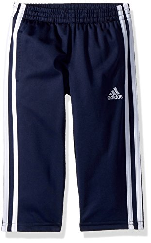 adidas Boys' Big Tricot Pant, Iconic Collegiate Navy, Small