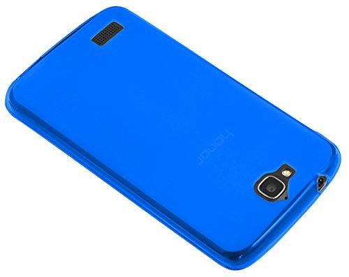 kazoj Schutzhülle kompatibel mit Huawei Honor Holly Hülle aus TPU in blau - 2