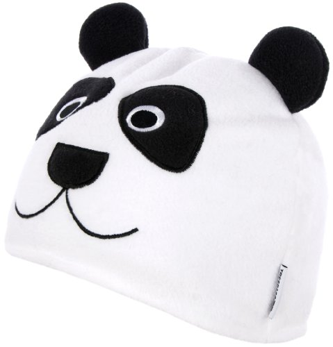 Trespass Bonnet pour Enfant Motif Bambou Blanc Blanc 2-4 Ans
