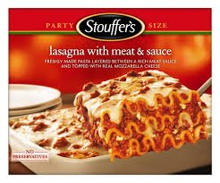 STOUFFERS LASAGNA WITH MEAT SAUCE CLASSICS PASTA FROZEN...