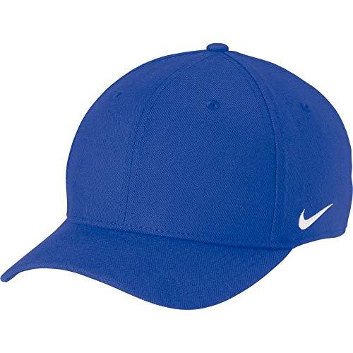 Nike Dri-FIT Swoosh Flex Cap (Royal, Large/X-Large)