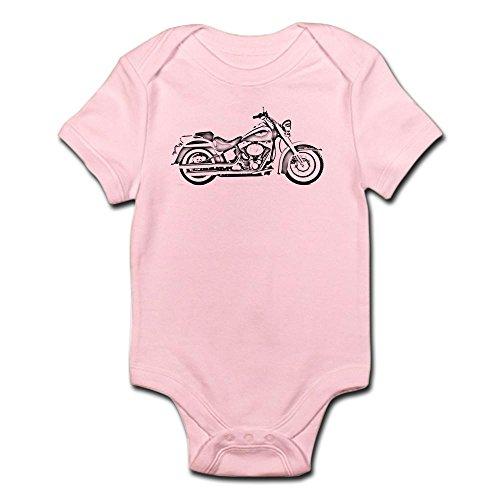 CafePress Chopper #1 Infant Creeper Cute Infant Bodysuit Baby Romper Petal Pink