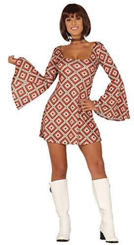 Guirca Costume Vestito Disco Anni '70carnevale Donna 8861_ M
