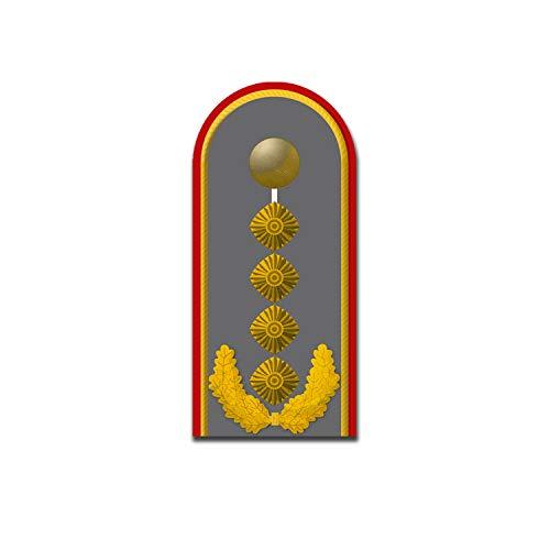 Aufkleber General Schulterklappe Bundeswehr Dienstgrad Rang 10x4cm#A5435