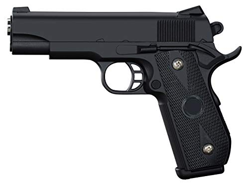 Pistola Airsoft Full Metal Rayline RV9 (presión de Resorte Manual), réplica en Escala 1: 1, Longitud: 19,5 cm, Peso: 400 g (Menos de 0,5 Julios - a Partir de 14 años)