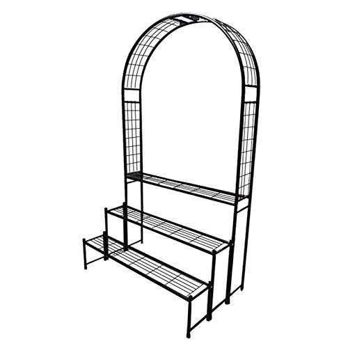 Creative LDF Arcos De Metal para Jardín Arcos Modernos Y Simples Soporte De Maceta para Exteriores, para Decoración De Patios Y Balcones Interiores