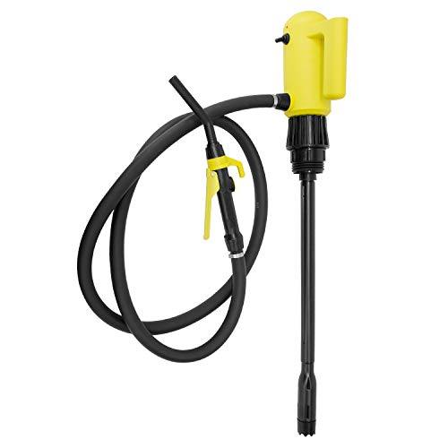 TERAPUMP TReDRUME 110V AC Electric Telescopic Fuel (Gasoline Diesel Bio Diesel etc.) Transfer Drum Pump 4.2 GPM for Use On 15, 30, and 55 gal with 6.6 ft Discharge Hose N Nozzle