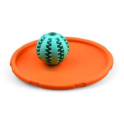 Caiven Hundespielzeug, Hundeball, Wasserspielzeug Hund, Hundefrisbee, agility set