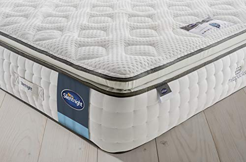 Silentnight 1000 Pocket Gel Pillowtop Mattress | Medium | King