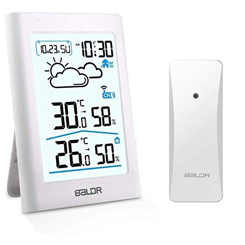 SINZONeu Station météo sans Fil, Thermomètre...