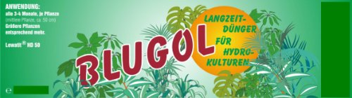 Blugol Langzeitdünger 500ml (Lewatit HD 50) - Hydrokultur