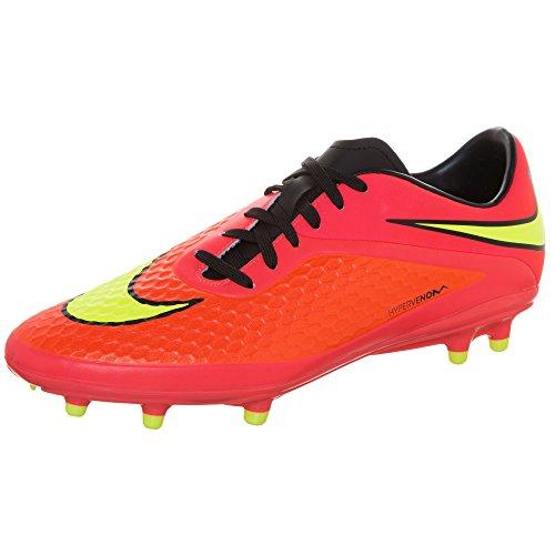 Nike Hypervenom Phelon Fg, Scarpe da Calcio Uomo, Rot/Orange, 6.5 US
