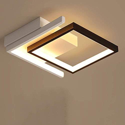 YYCHJU Plafón de Alto Rendimiento Techo de luz LED está incrustado en el Foyer Moderna lámpara de Techo en la Cocina comodidades en el Piso, Moderna Simple de Aluminio Luces LED