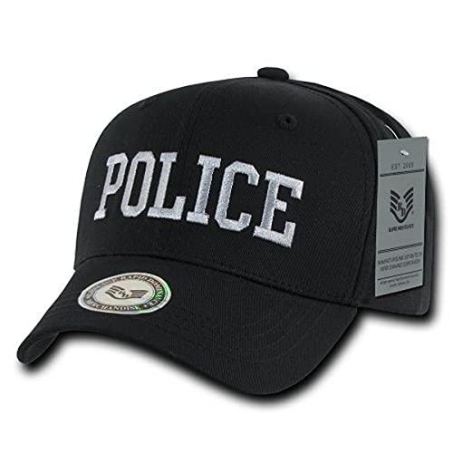 Rapiddominance Police Back to the Basics Cap, Black