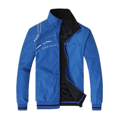Nueva primavera otoño hombres deportes chaqueta vuelo chaqueta delgada sección, a prueba de viento y