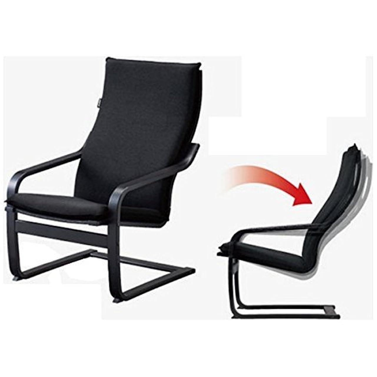 フィドル天気障害フジ医療器 シートマッサージャー用チェア(ブラック)my relax(マイリラ) MRL-10C