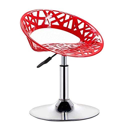 Barkruk, industrieel, verstelbaar, bureaustoel, draaibaar, hydraulisch, barkruk, verstelbaar, met basis van gepolijst chroom, voor ontbijt en pub