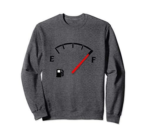 Kraftstoffanzeige Voller Tank Sweatshirt
